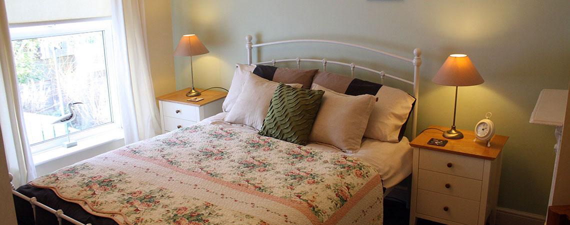 Double Bedroom - Flint Cottage.