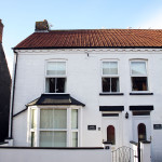 Frontage of White Cottage.