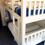 Bunks beds in White Cottage.